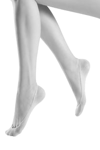 Oroblu Solange Ballerinas No-show socks in classic cotton, designed for ballerina flats.