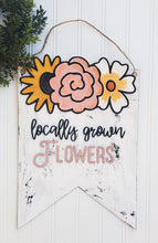 Load image into Gallery viewer, DIY locally grown flowers sign
