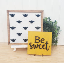 Load image into Gallery viewer, DIY Be sweet sign duo