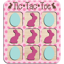 Load image into Gallery viewer, DIY  bunny/egg tic tac toe