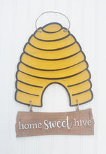 Load image into Gallery viewer, DIY bee hive door hanger