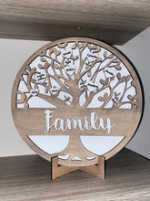 Load image into Gallery viewer, DIY Family tree sign