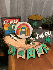 DIY St Patrick's Day decor pieces