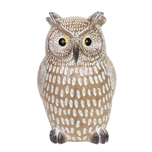 Resin Owl AC604-Woodland