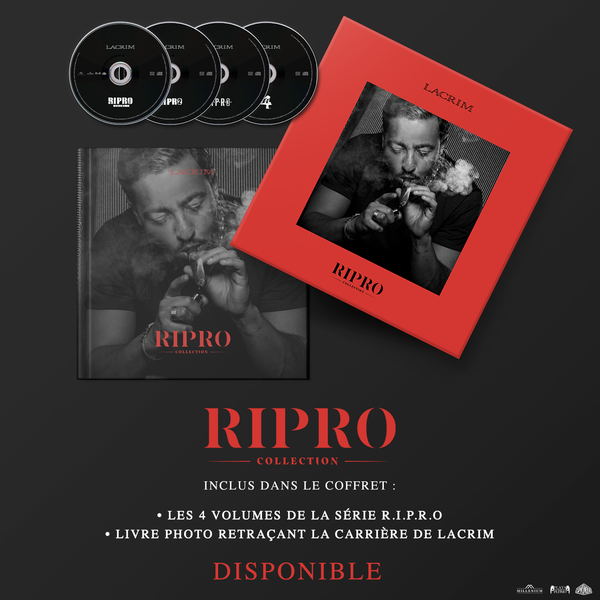 "LACRIM - COFFRET ""R.I.P.R.O"" COLLECTION"