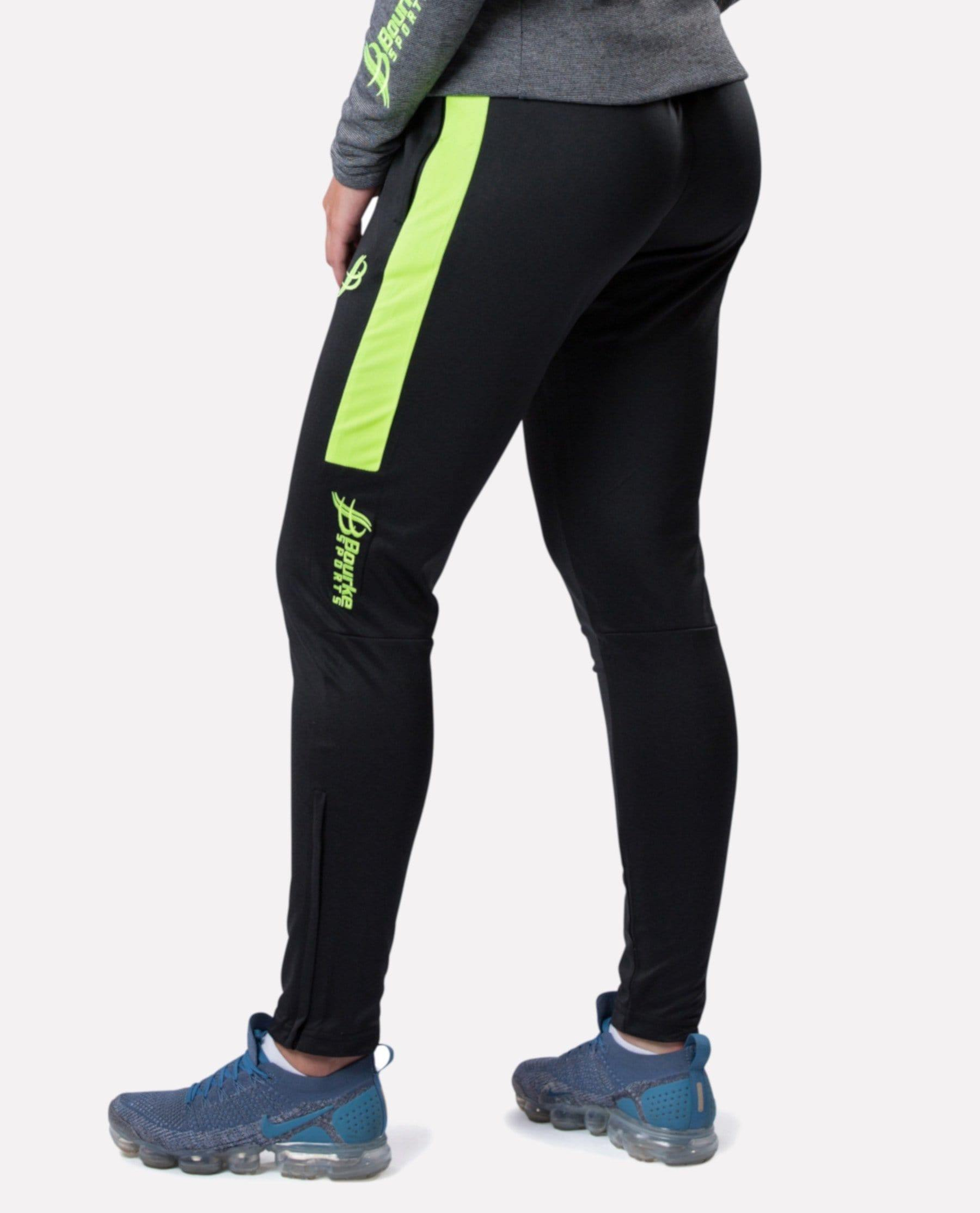ALPHA Adult Skinny Pants (Black/Luminous) - Bourke Sports Limited