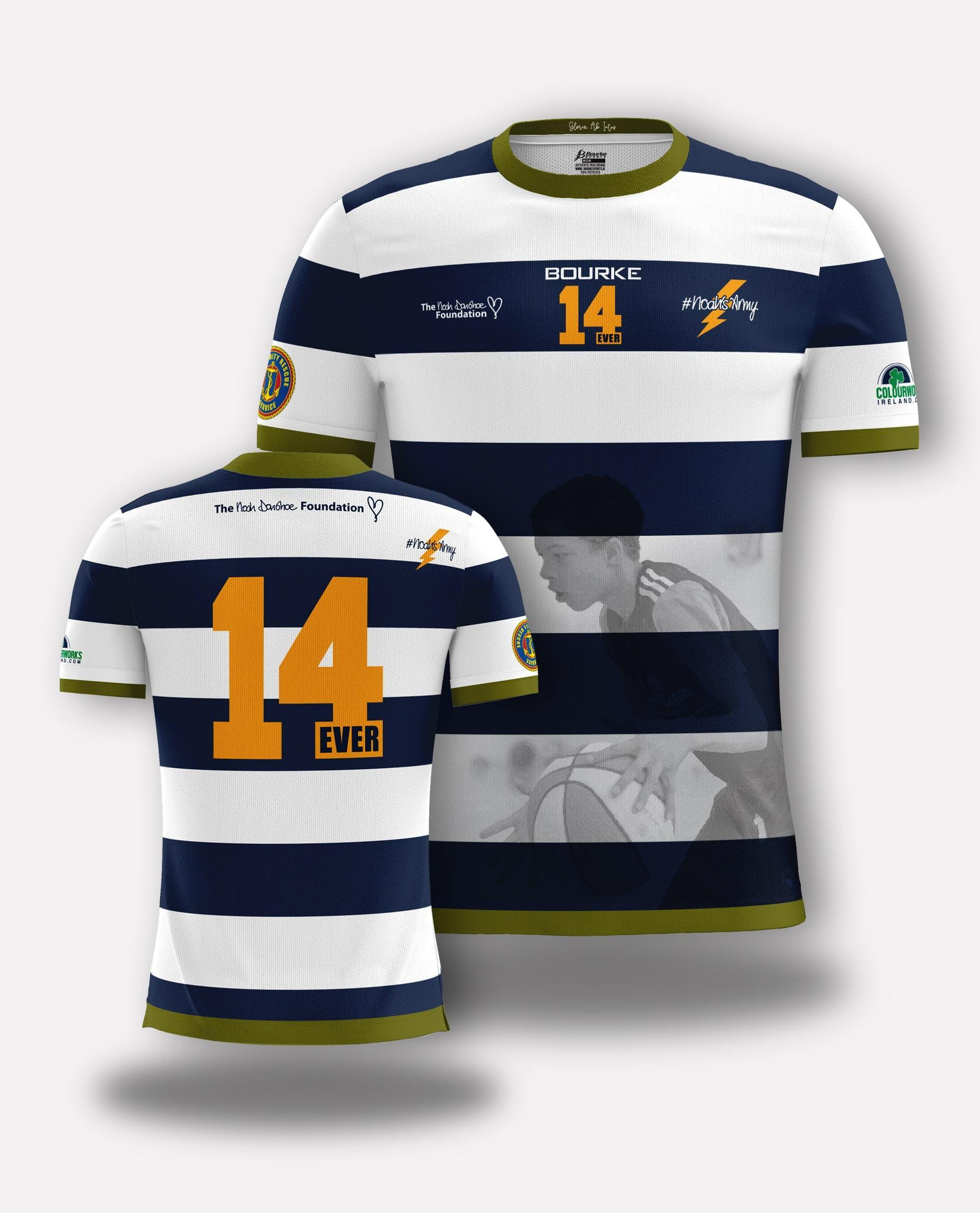 Noah Donohoe Foundation Jersey - Bourke Sports Limited