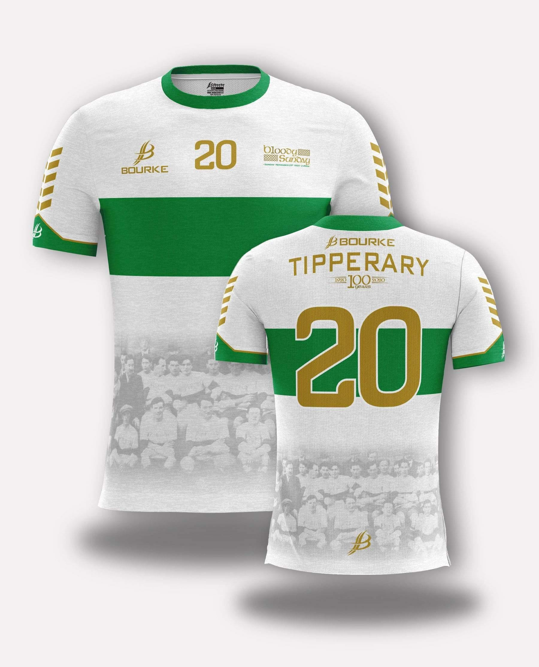 Tipperary 1920 Jersey - Bourke Sports Limited