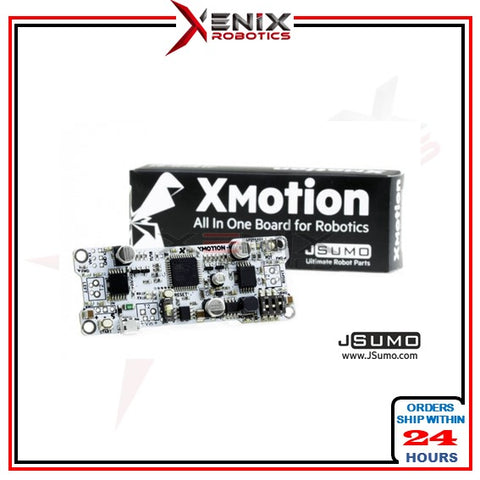 [Recommended] XMotion Arduino Control Board V.2 (High recommend for Arduino Sumo Robot)