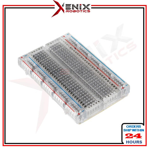Arduino Transparent Mini breadboard 400 holes Mini breadboard