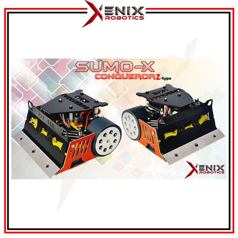 Sumo-X conqueror series 1kg Sumo Robot for competition