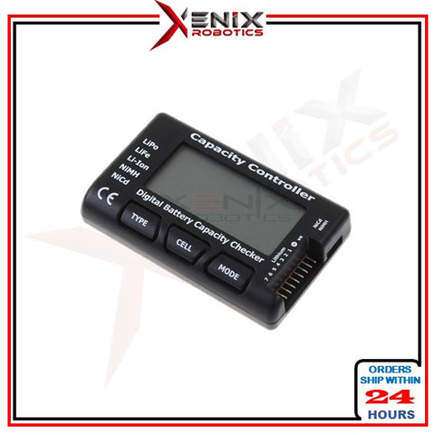 Cellmeter7 1-7S Digital Battery Capacity Checker Tester for LiPo LiFe Li-ion NiMh NiCd