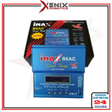 iMax B6 Balance Charger come with Adapter (Li-po 1- 6 Cell Ni-Cd NiMH Lithium Battery Balance Charger RC Digital Charge Discharger)