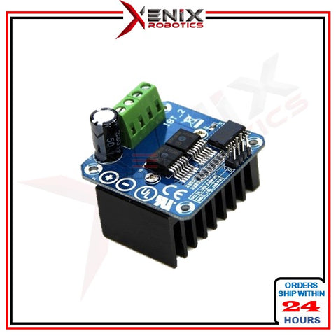 [Recommended]  BTS7960 43A H-Bridge High-Power Stepper Motor Driver Module for Arduino (High Performance for Autosumo/Sumo Robot)