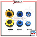 Mecanum Wheel for Omni-Directional Motor Smart Car Mobile Car 48mm 60mm 80mm