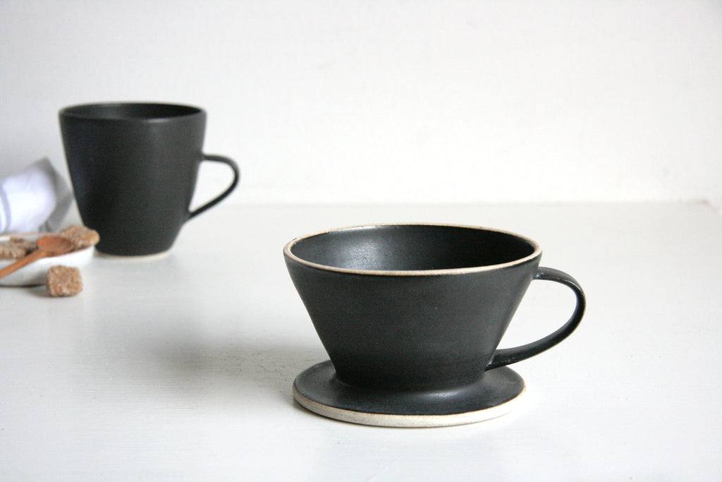 Pour Over Coffee Ceramic Mug