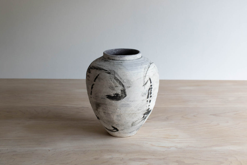 Black and White Vase No. 2