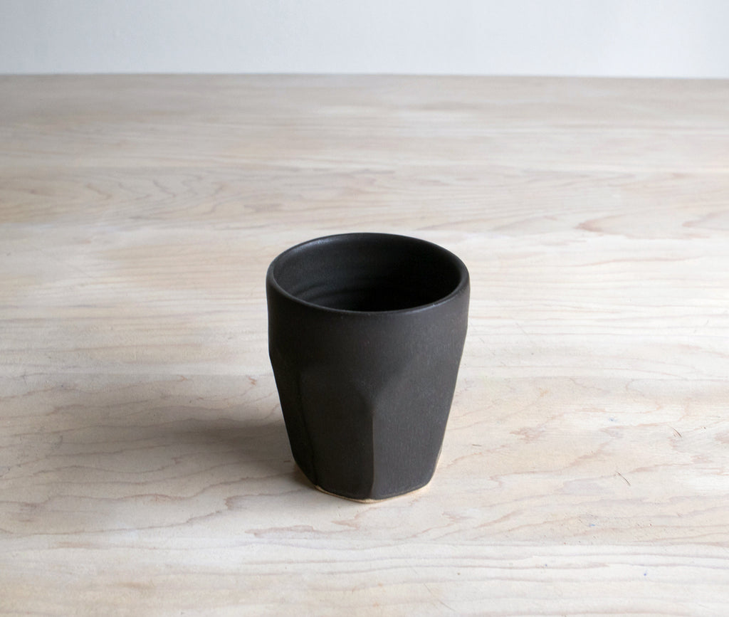 Farmhouse Pottery Black Tumbler