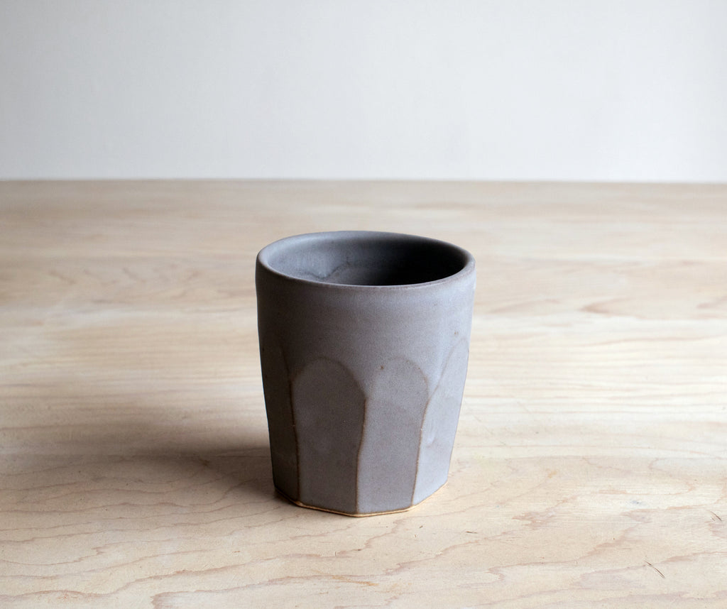 Slate Farmhouse Pottery Tumbler