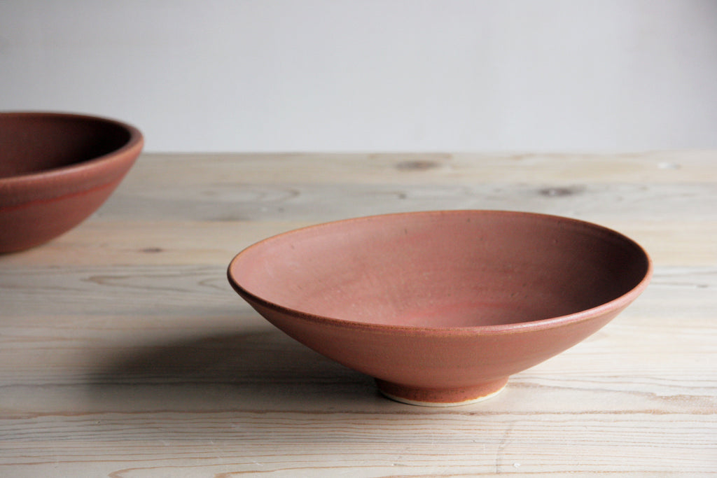 Farmhouse Flared Bowl Handmade Ceramic