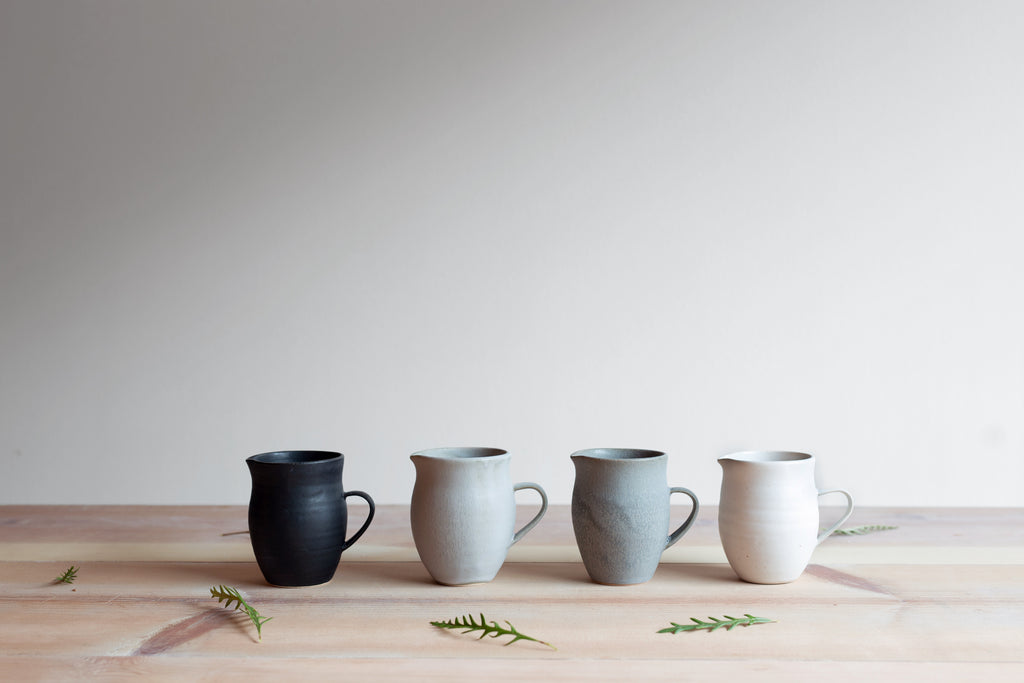 Farmhouse Pottery Creamer Pitchers