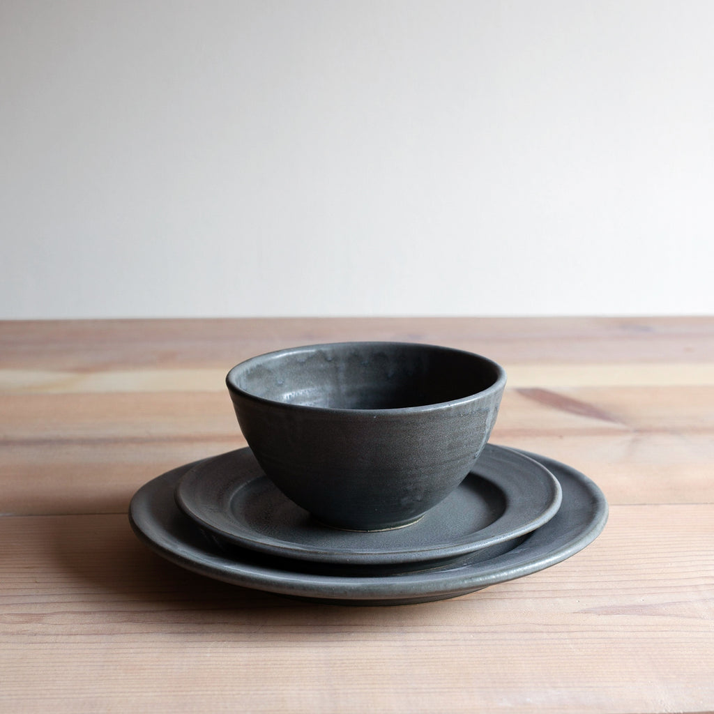 Charcoal Dinnerware Set