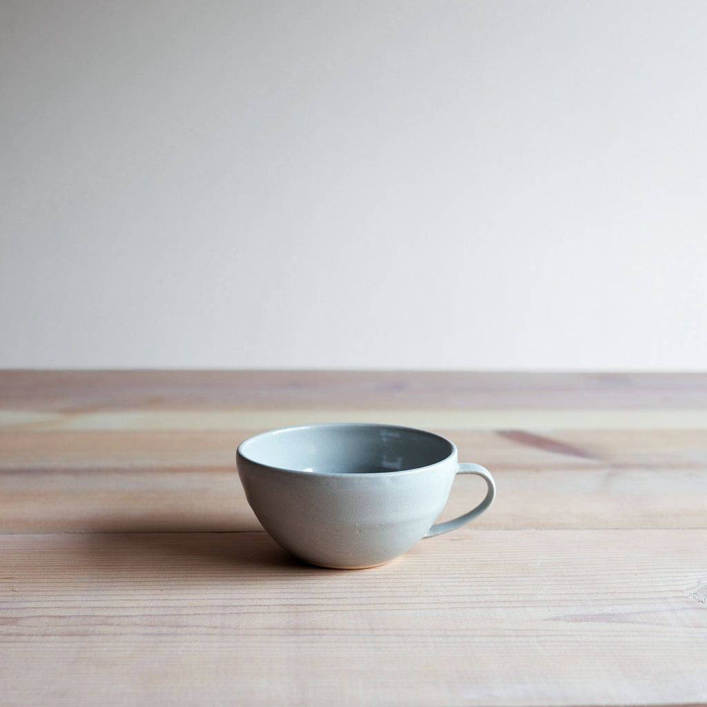 Serenity Blue Farmhouse Collection Latte Mug