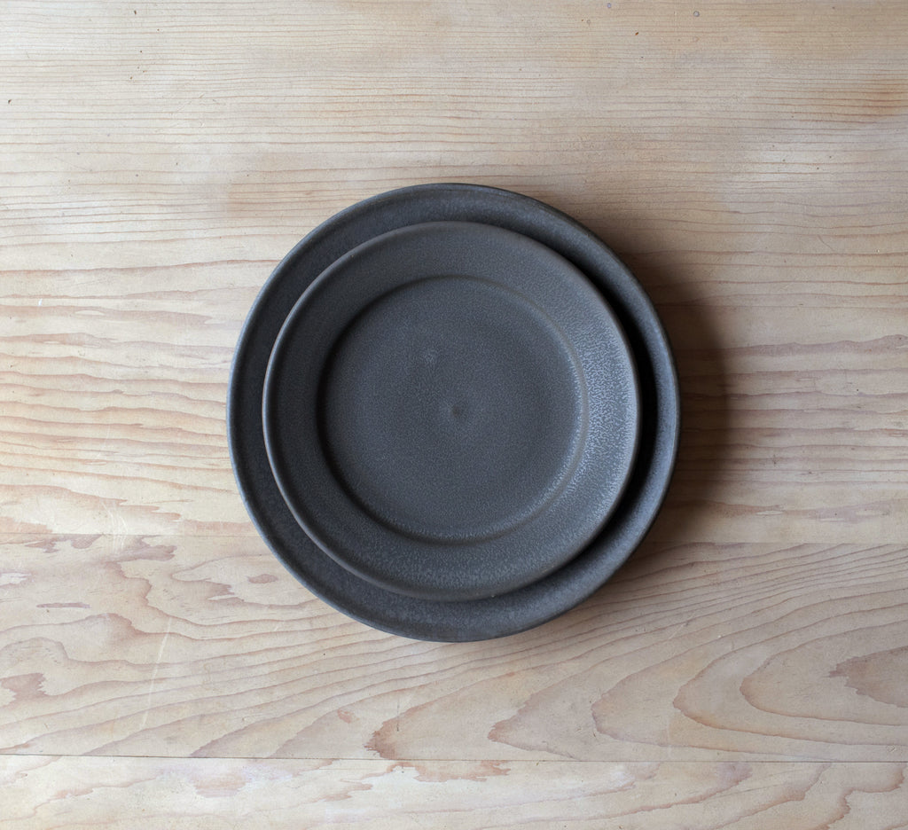 Charcoal Ceramic Dinnerware Set