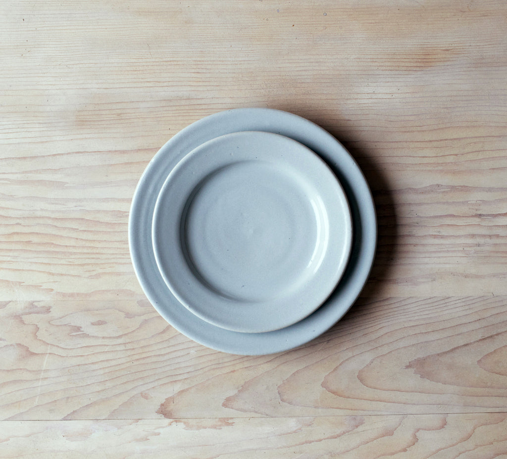 Farmhouse Pottery Serentiy Blue Plates