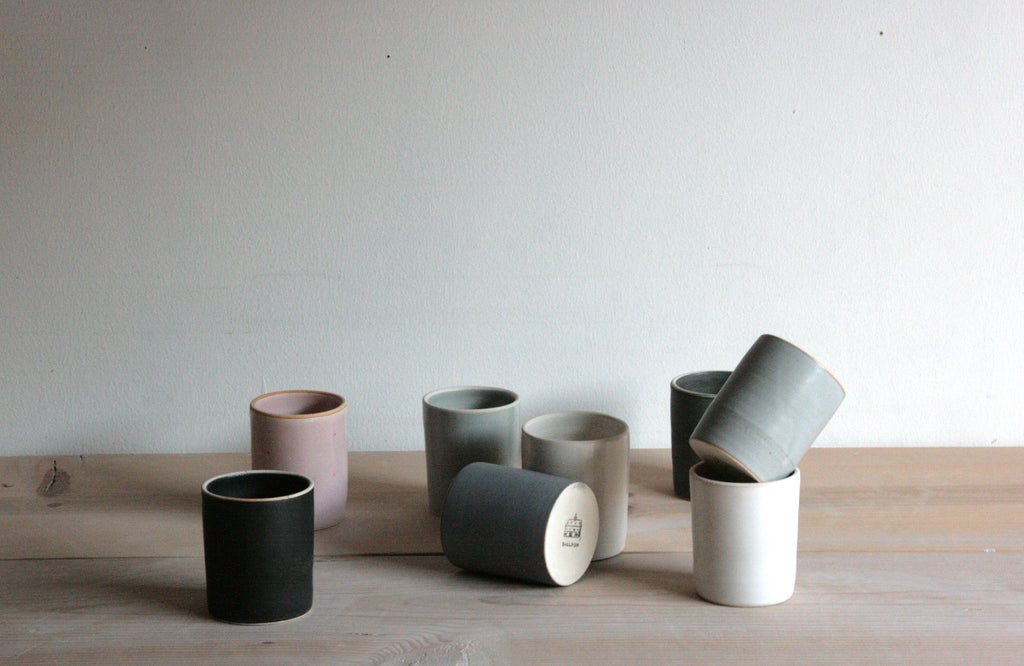 Ceramic Tumblers Handmade Silverlake Collection