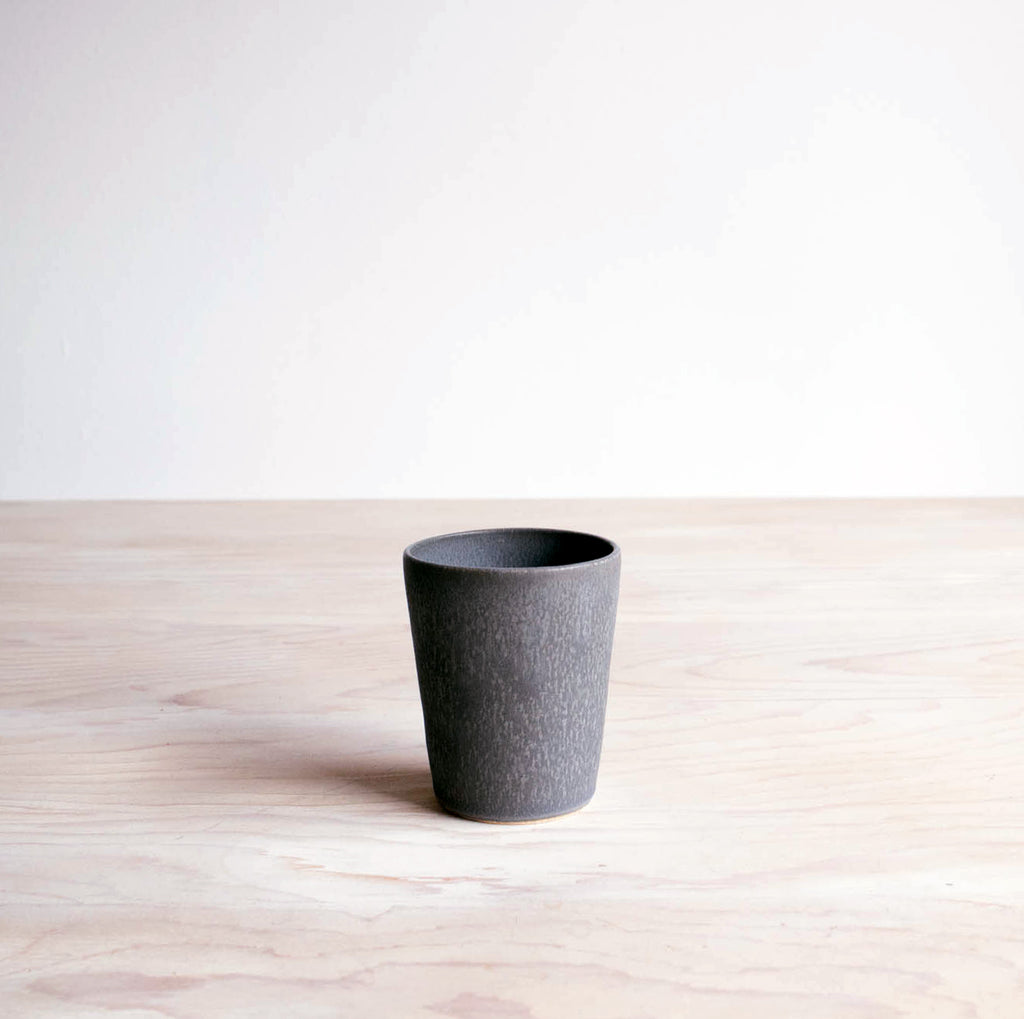 Charcoal Farmhouse Pottery Tumbler