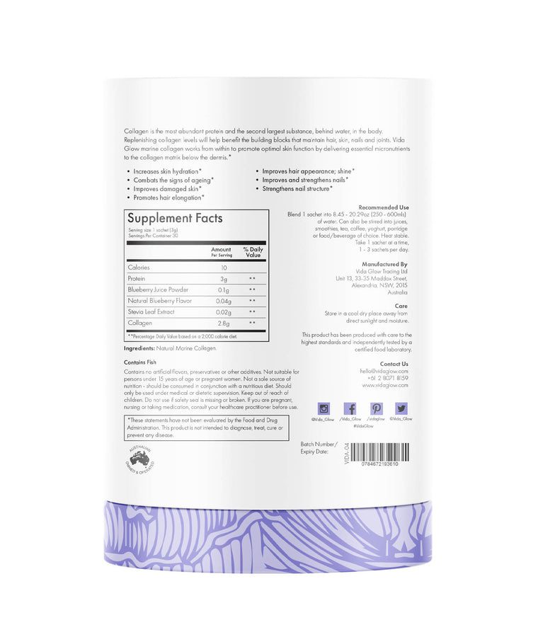 Blueberry Marine Collagen