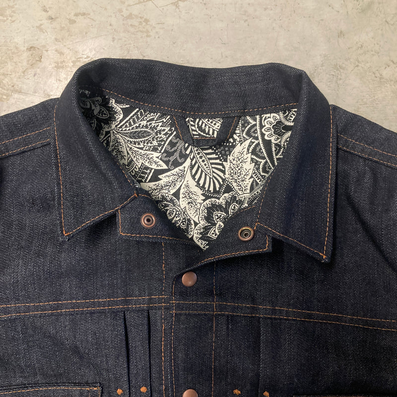 Handmade Blue Bird Jacket