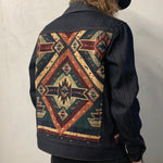 Upcycle Handmade Printed Blanket Jacket