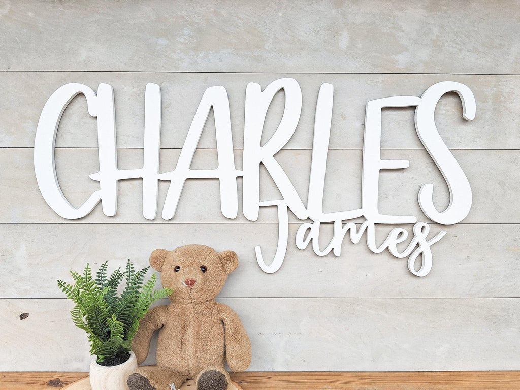 Name Sign - Charles James Style