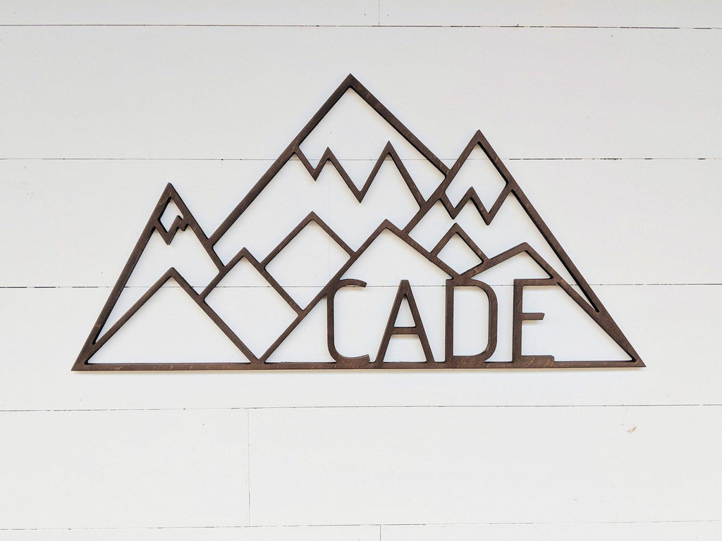 Name Sign - Cade Style