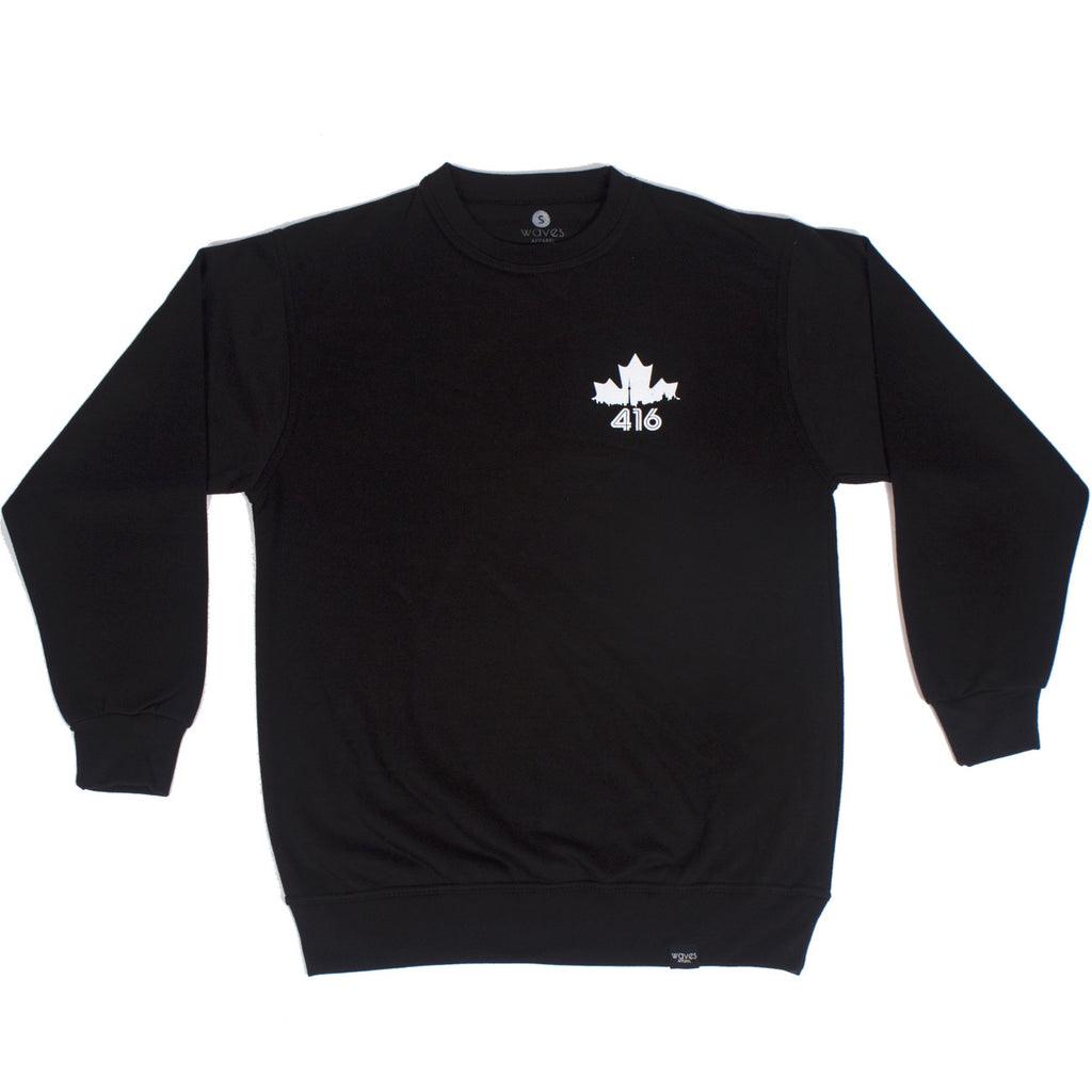 416 Skyline Chest Print - Crewneck Sweater