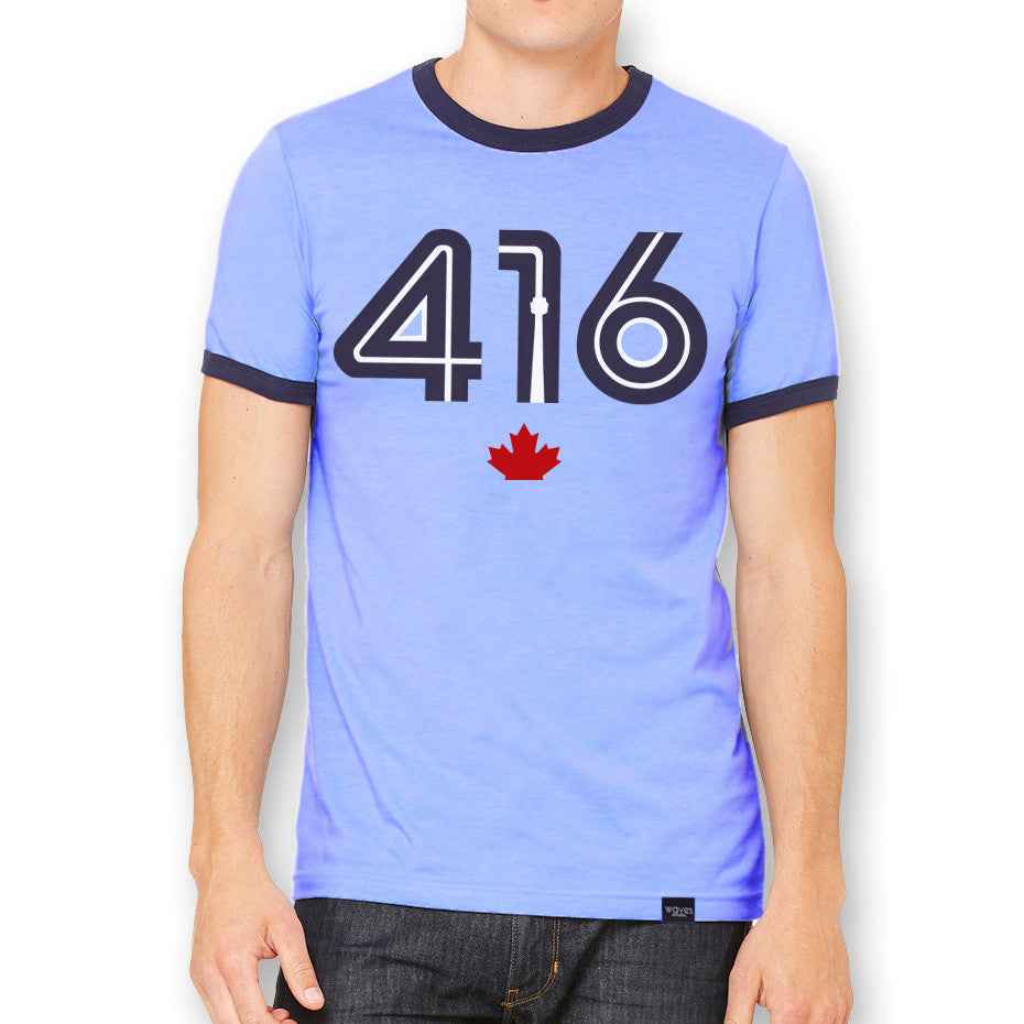 416 Powder Blue Jersey T-Shirt