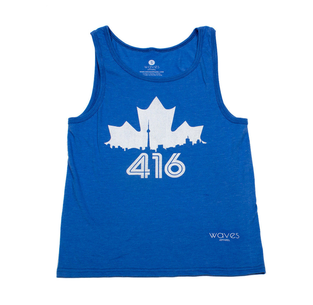 Toronto 416 Royal Heather Tank Top