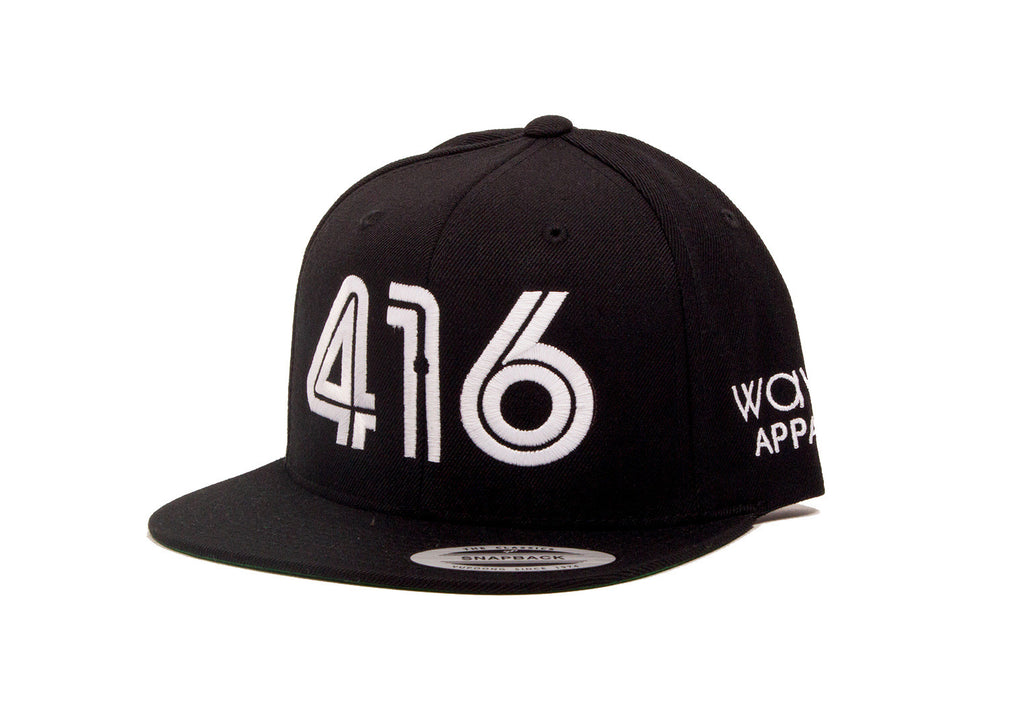 416 Snapback - The Toronto Hat - Black