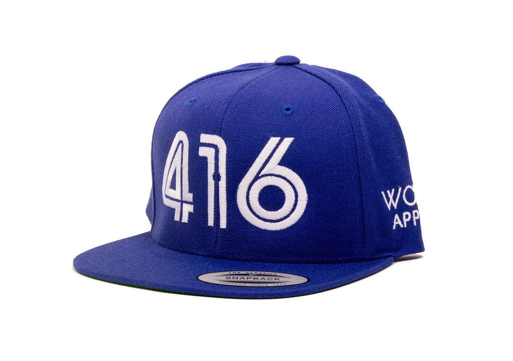 416 Snapback - The Toronto Hat - Blue