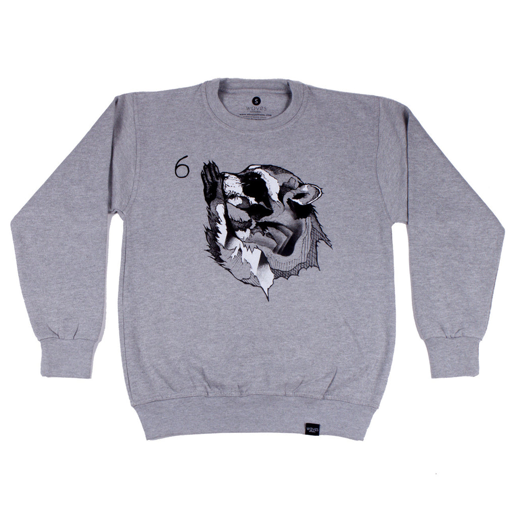 The Half Decent Collaboration Crewneck Sweater - Real 6 God