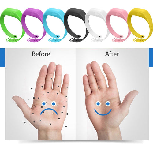 Hand Sanitizer Bracelet ensures you always have powerful sanitizer literally on-hand at all times.  FREE WORLDWIDE SHIPPING! 40% OFF TODAY! http://www.handsanitizerbracelet.co.uk