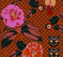 Load image into Gallery viewer, Camellia Tapestry Giftwrap