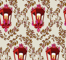 Load image into Gallery viewer, Victorian Lantern Giftwrap