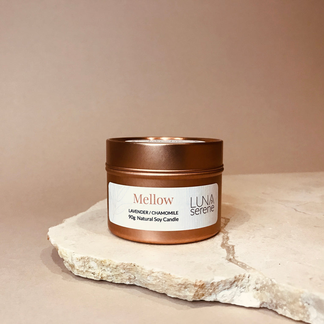 Mellow | Rose Gold Travel Candle