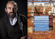 Dinner with Latitudes: Kinan Azmeh: A Window to the Blue