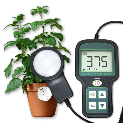 Quantum PAR Meter- Measures Grow Light Bulbs Planting Light Meter--LFSQPM