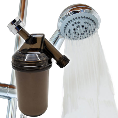 Vitashower TP-1000 Vitamin-C Shower Filter Bathroom Dechlorination for Dry Skin and Hair Loss