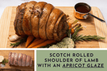 Rolled shoulder of lamb